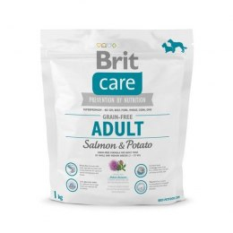 BRIT CARE GRAIN-FREE ADULT SALMON & POTATO 1 kg