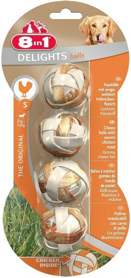 8in1 Przysmak Delights Balls S [T107798]