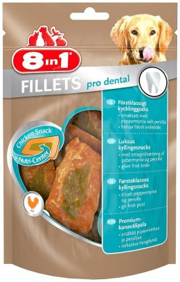 8in1 Przysmak Fillets pro dental S 80g [T112358]