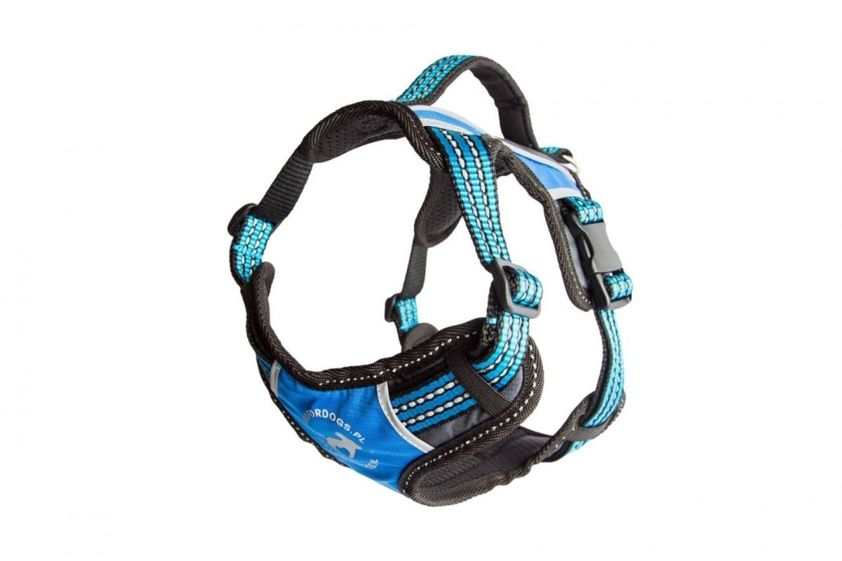 ALL FOR DOGS Szelki 2x-Sport Niebieski L