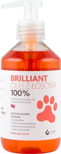 BRILLIANT Olej z Łososia 300 ml