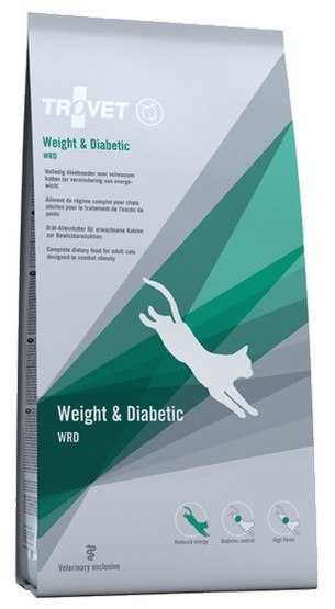 TROVET WRD Weight & Diabetic 3kg kot