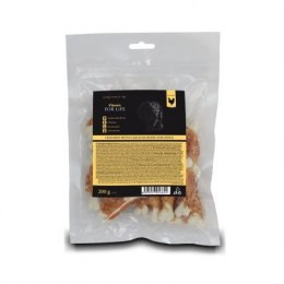 FITMIN FFL dog treat chicken with calcium bone 200g