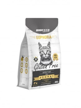 BIOFEED Euphoria ADULT CAT Grain Free Chicken&Potato 300g