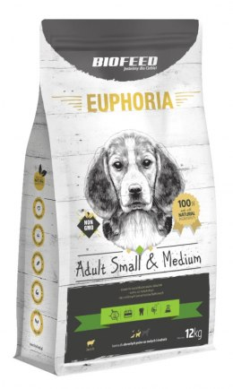BIOFEED Euphoria Adult Small&Medium Breed - LAMB 12kg