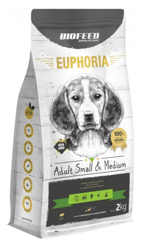 BIOFEED Euphoria Adult Small&Medium Breed - LAMB 2kg