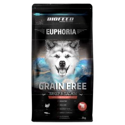 BIOFEED Euphoria Junior Dog GRAIN FREE - Turkey&Salmon 2kg