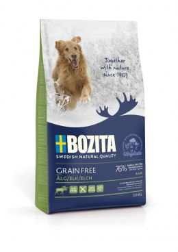 BOZITA Dog Grain Free Adult Plus Elk 3,5 kg