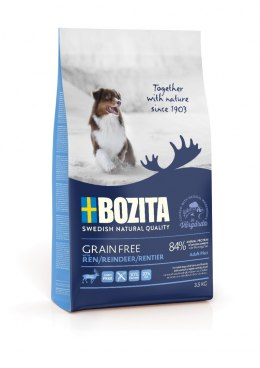 BOZITA Dog Grain Free Adult Plus Reindeer 3,5 kg