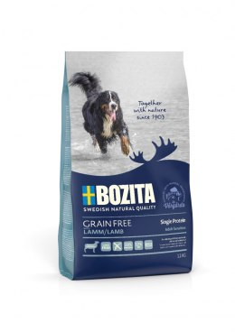 BOZITA Dog Grain Free Adult Sensitive Single Protein Lamb 1,1 kg