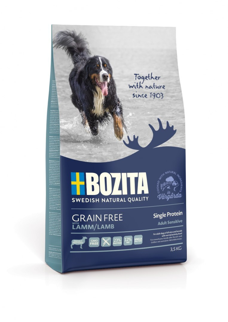 BOZITA Dog Grain Free Adult Sensitive Single Protein Lamb 3,5 kg