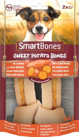SMARTBONES Sweet Potato Bones Medium 2szt. [T027415]