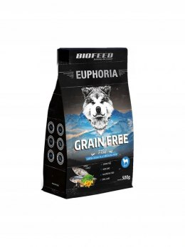 BIOFEED Euphoria Adult Dog GRAIN FREE - Fish 500g