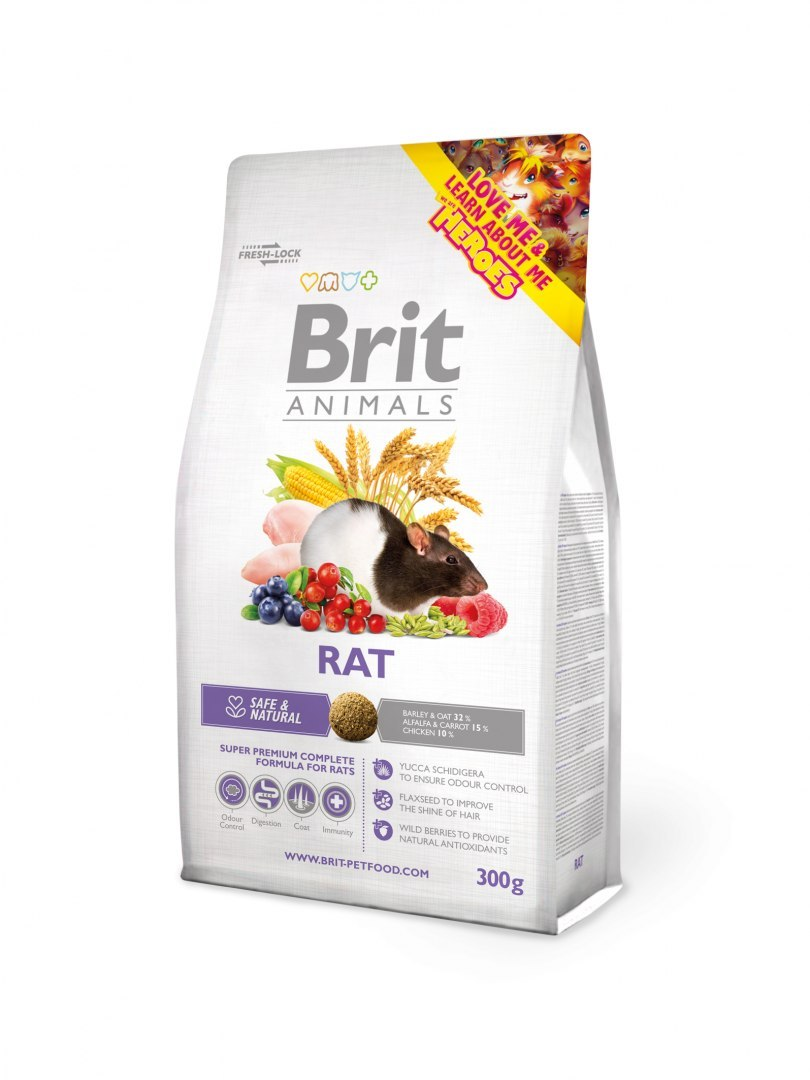 BRIT ANIMALS RAT COMPLETE 1,5 kg