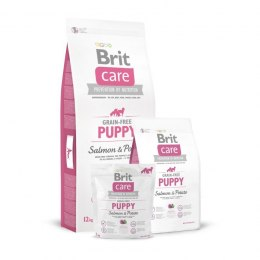 BRIT CARE GRAIN-FREE PUPPY SALMON & POTATO 3 kg