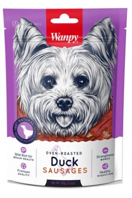 WANPY DUCK SAUSAGES 100g